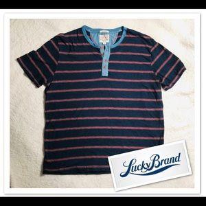 LUCKY BRAND Short Sleeve shirt sz XL